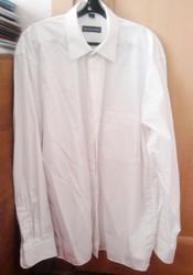Рубашка мужская белая р.48-50