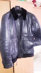 Куртка кожаная муж. JOOP